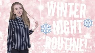 WINTER NIGHT ROUTINE 2016 AND GIVEAWAY!