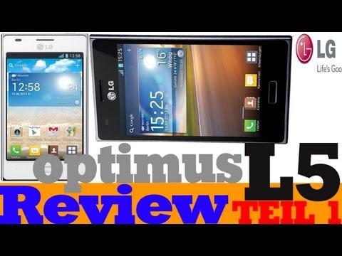Review: LG Optimus L5 E610 Teil1 (Deutsch) (HD)   SocietyTechnik