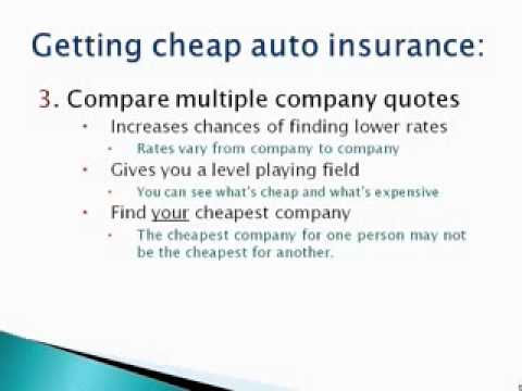 (Auto Insurance In Texas) Find The *CHEAPEST* Car Insurance