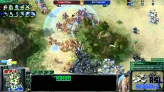 RoX.KIS.TitaN vs EGThorZaiN Game 1: Ritmix RSL II Group D - [Starcraft II]