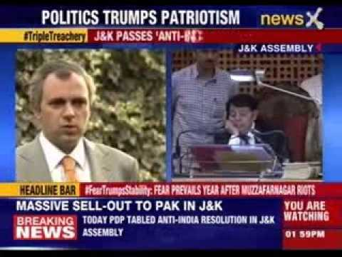 Anti-India resolution passed in Jammu and Kashmir