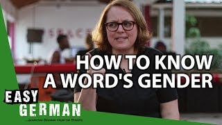How to know a word's gender   Super Easy German (70)