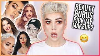 BEAUTY GURUS PICK MY MAKEUP | Thomas Halbert