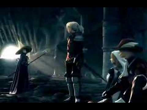 Alta Qualidade Final Fantasy III DS Abertura