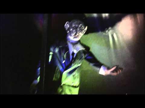 spookhuis Haunted Mansion Hinzen onride kermis Etten Leur 2014