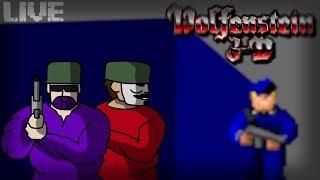 🔴 [AO VIVO] WOLFENSTEIN 3D SOLDADOS DE ELITE FT CASSADOR! | BrutalHero BR