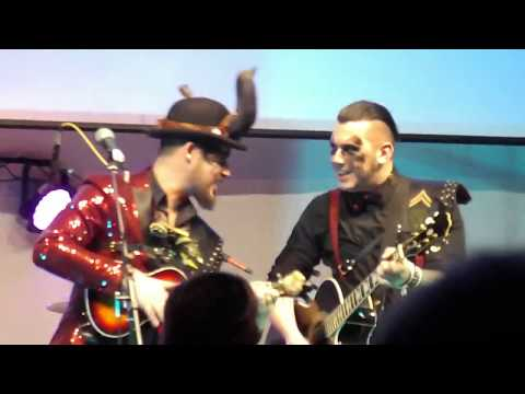 Victor and the Bully 'Cannibal', live at Bracknell's Enchanted Market event 2018