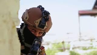 DFN: Counter-terrorism Training, MOSUL DAM, IRAQ, 04.05.2018