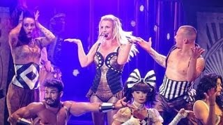"Britney Spears calls ""fucking asshole"" in liveshow"
