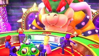 Mario Party 10: Natalie é o Bowser no Bowser Party! - Nintendo Wii U gameplay