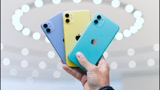 iPhone 11 - ALL THE COLORS - Color Comparison!