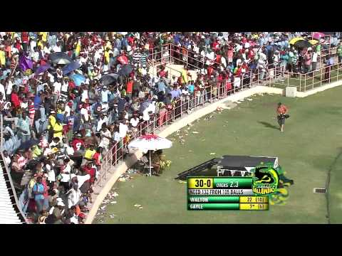 CPL 2014 Highlights - Match 3 Jamaica Tallawahs vs St Lucia Zouks