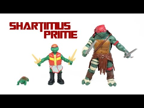 Ninja Turtles 2014 Raphael Toy Evolution 3 Pack Movie Action Figure Review