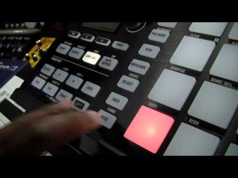 Maschine 1.8 Tip - audio sample stop hardware shortcut on the Mikro MK2