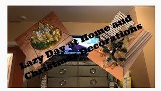 VLOGMAS DAY 8 Lazy day/Coffee Bar/Centerpiece DIY # LGBT, DIY, #movie