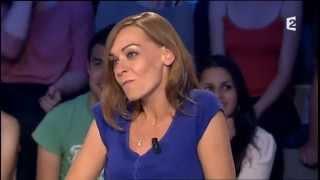 """Agnès Martin-Lugand """"Les gens heureux lisent et boivent du café"""" On n'est pas couché 15 juin 2013"""
