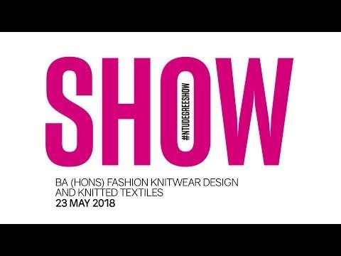 NTU Fashion Knitwear Design Catwalk, 23 May 2018