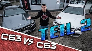 AMG Mercedes C63 VS. C63 |  Coupe VS Limo Teil 2 | SimonMotorSport | #