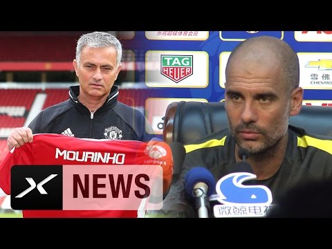 Pep Guardiola: Jose Mourinho macht Manchester United stärker | Premier League