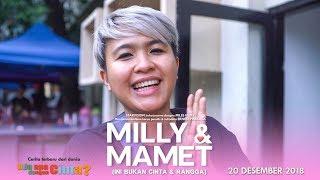 Download Lagu MILLY & MAMET (Ini Bukan Cinta & Rangga) Day 1 Gratis STAFABAND