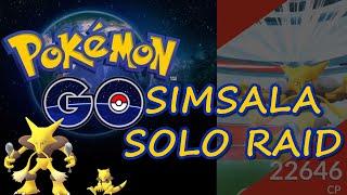 Simsala Raid Solo, Pokemon Go Berlin #3