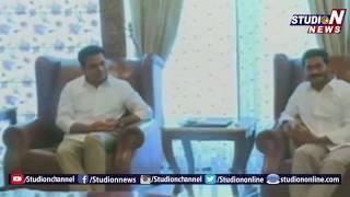 TRS Working President KTR Met YS Jagan Mohan Reddy