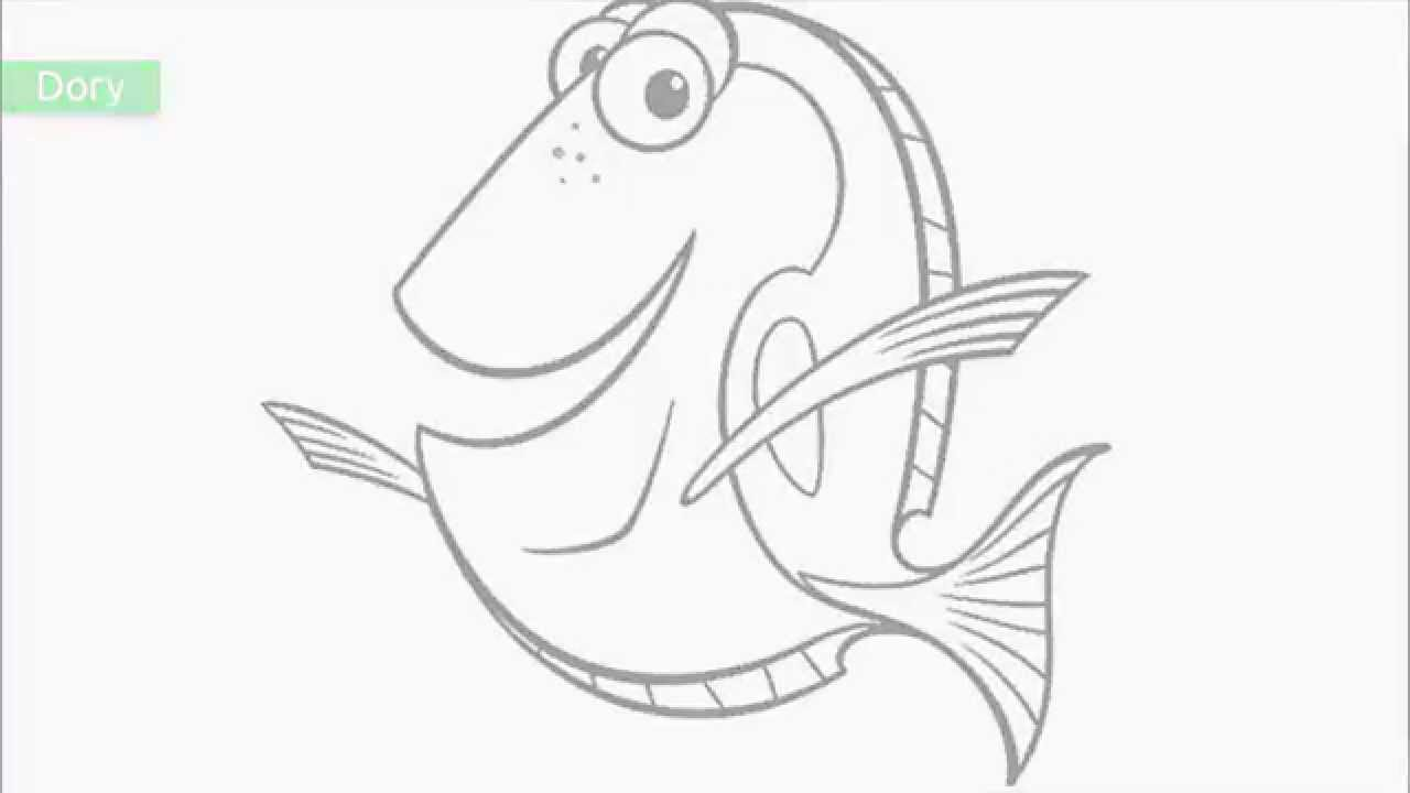 Top 20 Free Printable Finding Nemo Coloring Pages YouTube