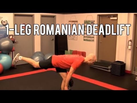 1-Leg Romanian Deadlift Image 1