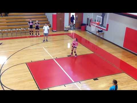 Alexis Coalson Class of 2015 Libero Volleyball Recruitment Video Shady Spring High School