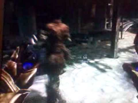 Sigurd is weird - Skyrim (xbox 360)