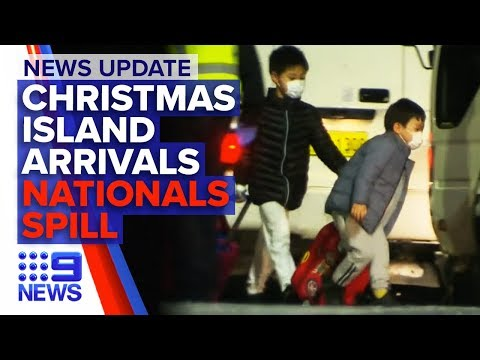 News Update: Nationals leadership spill, Coronavirus evacuees arrive | Nine News Australia