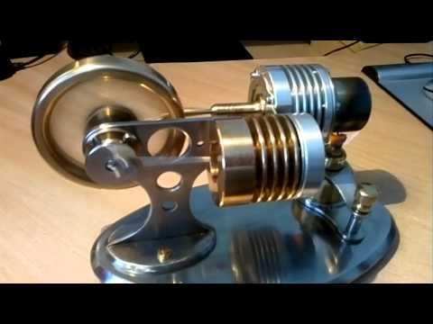Двигатель внешнего сгорания (двигатель Стирлинга) - TubeoVo.com