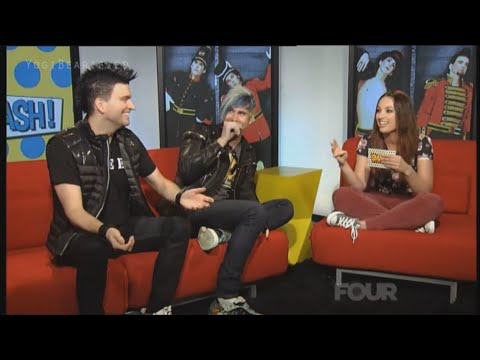 Marianas Trench New Zealand Interview [30/10/14]