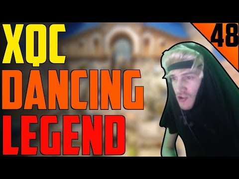xQc DANCING LEGEND - xQc STREAM HIGHLIGHTS #48