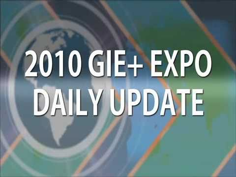 2010 GIE+EXPO Daily Update- Day 1