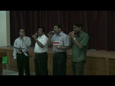 Krussin maravil ... Malayalam Christian worship song by Abu Dhabi Choir.avi