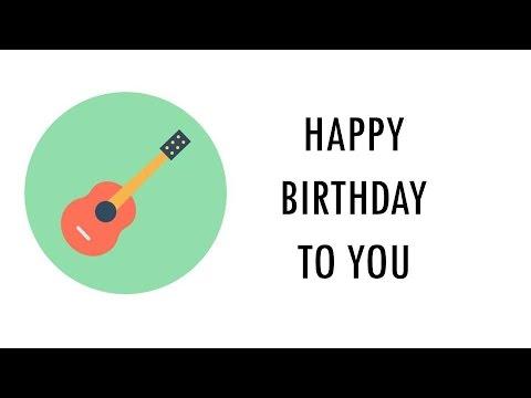 happy birthday guitar tab: