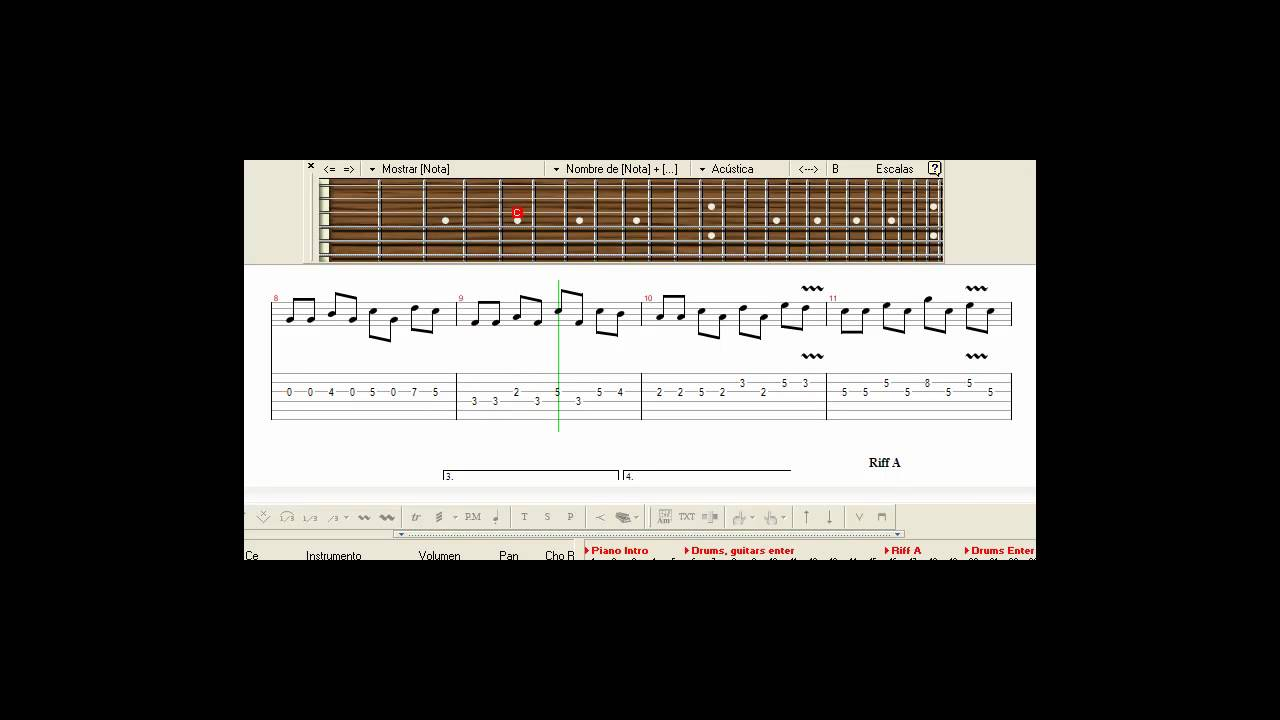 Mortal kombat - Guitar Pro 5.2 Tab ;) - YouTube