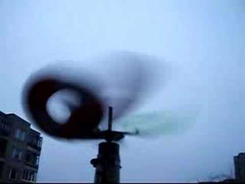 how to make a wind turbine with a cd