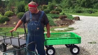 Reviewing Garden Carts or Utility Wagons.