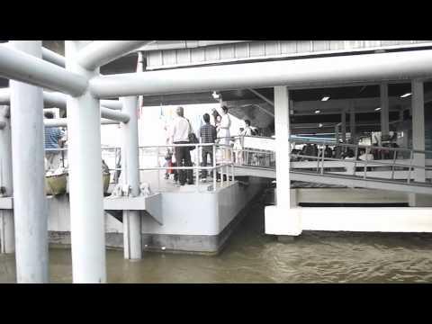 十月十五日曼谷遊客區水災情況