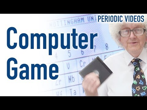 Vintage Chemistry Computer Game - Periodic Table of Videos