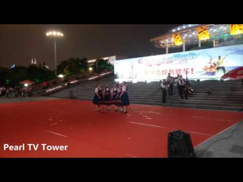 "2016 Shanghai Tourism Festival public show-FS ""Zeleziar"", Slovakia-2"