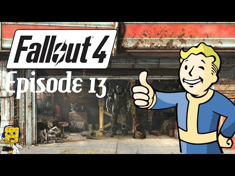 [FR] Let's Play Fallout 4 - Episode #13 - TEMPÊTE RADIOACTIVE