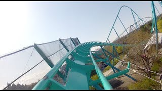 Leviathan POV *REAL* Front Seat OnRide Canada's Wonderland 2012 B&M Giga Roller Coaster