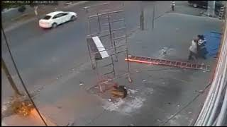 Mobile Scaffolding Accident Due to Unintended Movement