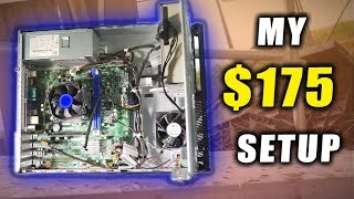 This Gaming Setup Cost me only $175...