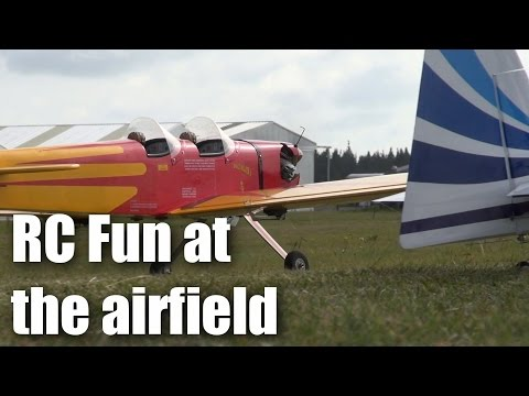 RC planes and fun in New Zealand