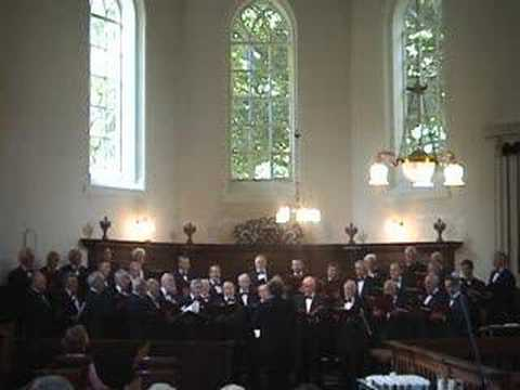 Christian Male Choir Crescendo - Mijn herder is de Here God
