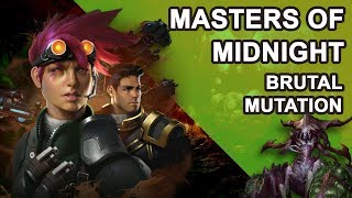 Starcraft 2 Co-op Brutal Mutation: Masters of Midnight [ Han and Horner ]